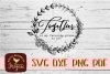 Together Is my Favorite Place to be SVG - Valentine cut file example image 2