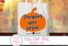 Pumpkin Spice Junkie SVG, Pumpkin, Farmhouse,Autumn, Fall example image 5