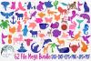 62 File Mega Floral Mandala Animal/Figure SVG Bundle example image 1
