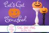 Lets Get Smashed SVG, Pumpkin SVG, Halloween SVG, Fall SVG example image 4