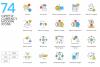 1266 Icons - colorPOP Vector Bundle example image 6
