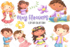 May Flowers Clip Art Collection example image 1