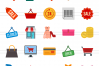 25 Black Friday Flat Multicolor Icons example image 2