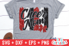 Cheer Mom| SVG Cut File example image 1
