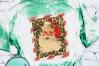 Santa with Leopard Print Fram example image 6