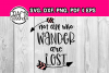 Not all who wander are lost - Svg file - Arrow svg - layered example image 1