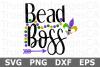 Bead Boss - A Mardi Gras SVG Cut File example image 2