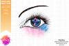 Pink & Blue Awareness Ribbon Eye - Printable Design example image 2