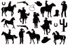 Cowboy Western Silhouettes example image 2