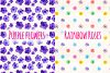 Seemless Floral Watercolor Patterns Bundle example image 4