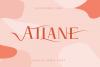 Atlane Casual Serif Font example image 1