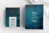 Ocean Blue Watercolor Textures | 6 Pack example image 5