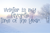 Winter Sparkle - A Hand-Written Serif Font example image 5