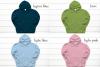 Hoodie Mockup Bundle Gildan 18500 Basic hoodie mockups example image 5