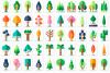 Tree flat example image 1