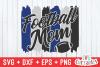 Football Mom | SVG Cut File example image 2