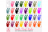 2 Colorful Wedding Clipart PNG Bride and Groom icons Wedding Party planner stickers with Transparent Background Personal & Commercial Use example image 1