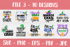 Mardi Gras SVG | SVG Bundle | SVG Cut Files | T shirt Desig example image 4