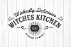 Kitchen Witch Svg, Halloween Svg, Kitchen Decor, Home Decor example image 1