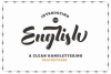 The English Font - Vintage Lettering example image 1