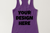 Ladies Tank Top Mockups - 20|Front/Back|PNG example image 16