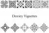 Derriey Vignettes Family Pack (5 fonts) example image 2