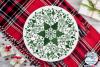 Christmas Mandala SVG | Christmas SVG Cut File example image 3