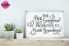 Best Grandmas Get Promoted - SVG, DXF, EPS Cut File example image 2