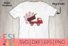 Baseball SVG| Truck with Falling Baseballs and Bats example image 1