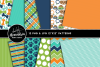 Pampered Pooch Clipart Graphics & Digital Paper Patterns Bundle example image 2