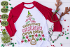Candy & Syrup Elf Diet Christmas Phrase SVG example image 3