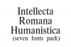 Intellecta Romana Humanistica (promotional limited time pack) example image 1