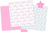 Fairy digital papers, Unicorn patterns, Fairies -P10 example image 2