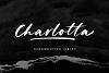 Charlotta - Handwritten Script example image 1