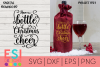Christmas SVG  Have a bottle of Christmas Cheer example image 1