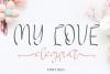 MY LOVE elegant example image 1