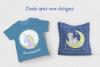 Magic Unicorns Illustration Set example image 9