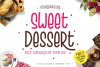 Sweet Dessert Cute Typeface example image 1
