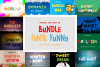 Funny Font Bundles example image 1