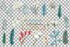 Cotton bolls and fir branch leafy autumn and winter decor example image 19