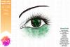 Green Awareness Ribbon Eye - Printable Design example image 2