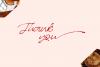 Better Regards Signature Font example image 13