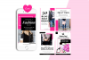 Fashion Blogger Pinterest Templates for Canva example image 7