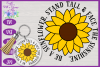 Be a Sunflower SVG | Autumn SVG | Sunflowers SVG | Fall SVG example image 1