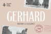 Gerhard - Vintage Display Font example image 1