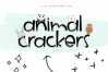 Animal Crackers - A Fun Handwritten Font example image 9