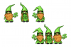 St. Patricks Day Gnome gPNG, Gnome Sublimation Design example image 2