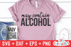 May Contain Alcohol   Funny SVG Cut File example image 1