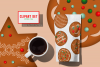 Gingerbread Cookies Christmas Clipart Download PNG Files example image 1