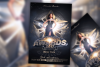 The Golden Awards Flyer Template example image 1